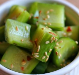 Cucumber Sesame Salad