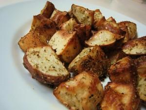 thyme potatoes
