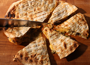 grilled chicken chipotle quesadilla