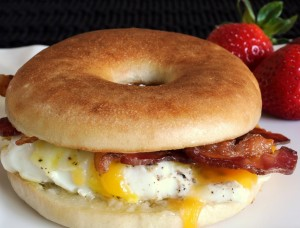 Bacon Breakfast Bagel