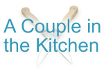 a couple in the kitchen