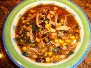 chicken chili tortilla soup