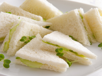 Cucumber Sandwich [Bridal Shower or Tea Party Recipe] | Simple Recipes