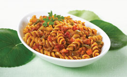 hot garlic rotini