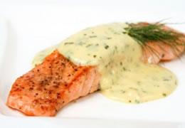 salmon bearnaise