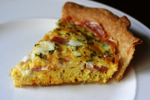 Quiche [ham and cheese] | Simple Recipes