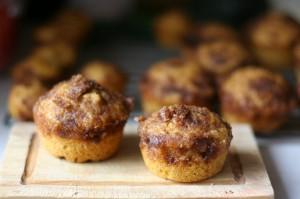 winter spiced squash muffins