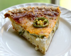 JALAPENO cheese QUICHE