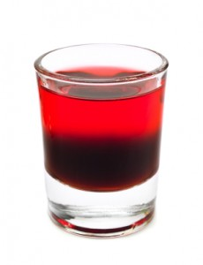 Cranberry Jello Shots