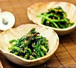 spinach goma-ae