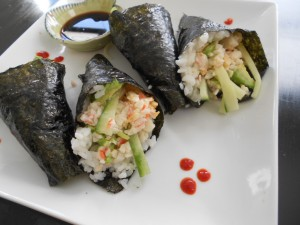 Spicy California Hand Roll