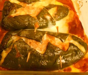 Stuffed Chile Rellenos