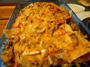 nacho platter