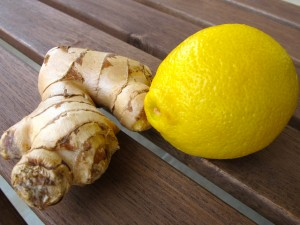 lemon ginger water