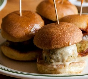 Turchicken Meatball Sandwich