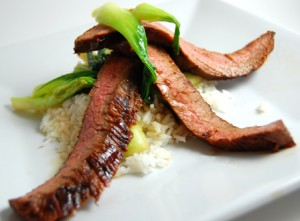 soy flank steak