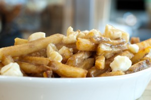 Poutine Gravy Fries with Cheese Curd