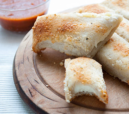 easy cheese stuffed breadsticks