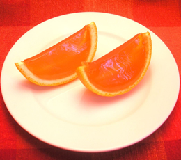 orange slice jello shots