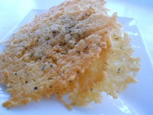 Parmesan Cheese Crisps