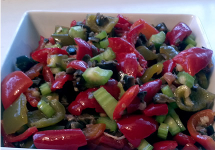 hot pepper salad